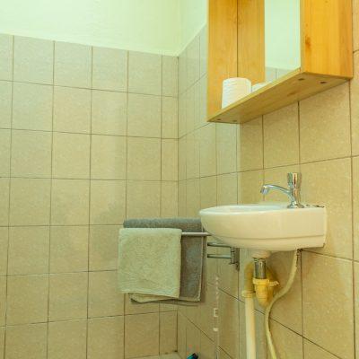 Appartementen 1 t/m 5 douche/badkamer